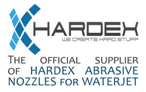 Hardex focusing cutting nozzles supplier for waterjet